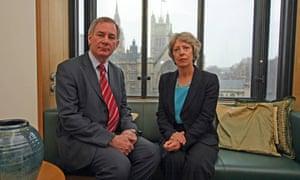 Geoff Hoon and Patricia Hewitt.