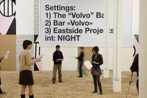 Exhibitions gallery 9/01: Liam Gillick