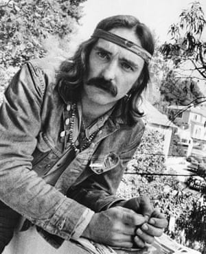 Dennis Hopper: Director-actor Dennis Hopper poses in Hollywood, California in 1971