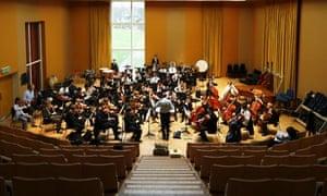 Watford Grammar School orchestra