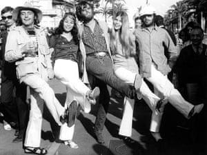 Dennis Hopper: Dennis Hopper promoting Easy Rider at the Cannes Film Festival - 1969
