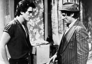 Dennis Hopper: Dennis Hopper and Matt Dillon in Rumblefish