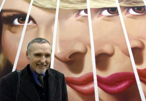 Dennis Hopper: Dennis Hopper solo exhibition at the Stedelijk Museum in Amsterdam in 2001