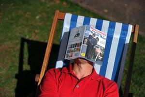 Agatha Christie festival: An afternoon nap