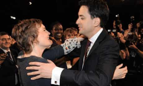 Ed Miliband and his partner Justine Thornton