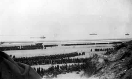 The beach at Dunkirk in June 1940