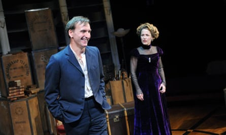 Christopher Eccleston and Gillian Anderson in A Doll's House at the Donmar Warehouse