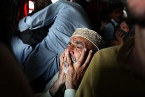 Swat: Flood-stricken villagers from the Kalam Valley,