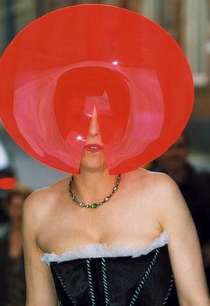 Isabella Blow: PHILIP TREACY HAT EXHIBITION AT THE DESIGN MUSEUM, LONDON, BRITAIN