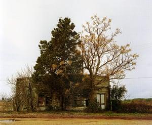 American South: Palmist Building (Winter) Havana Junction, Alabama by William Christenberry