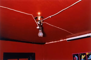 American South: Red Ceiling, Greenwood, Mississippi, 1969-1971, by William Eggleston