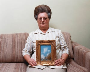American South: Bonnie (with a photograph of an angel), Mississippi, 2000, by Alec Soth