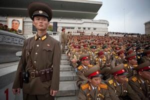 North Korea: North Korean military at the parade