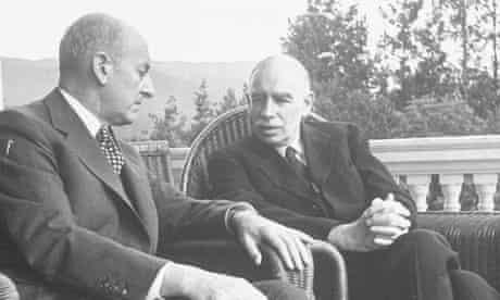 Henry Morgenthau and John Maynard Keynes at Bretton Woods