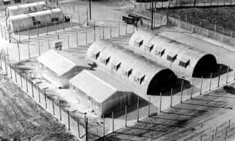 Long Kesh internment camp in Lisburn