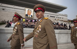 North Korea Update: The Kim Il-Sung Square after the end of today's military parade