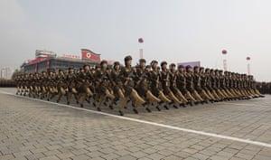 North Korea Update: North Korean military parade