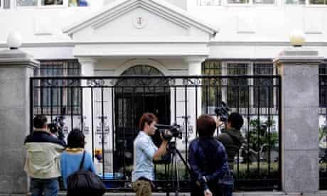 Liu Xia's apartment