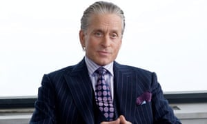 Gordon Gekko, played by Michael Douglas In Wall Street: Money Never Sleeps.