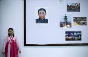 Dan Chung: Inside the museum by the Party Foundation Monunment in Pyongyang