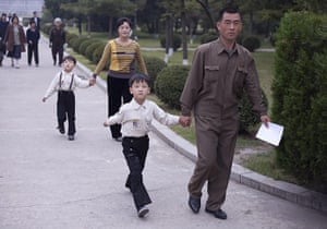 Dan Chung: Scene from near the Party Foundation Monunment in Pyongyang