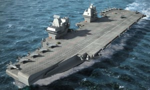 MoD gives go ahead to Navy carriers