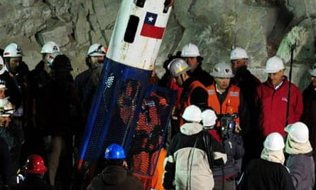 Chilean miners rescuer
