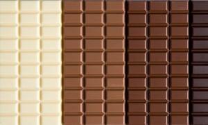 White milk dark chocolate