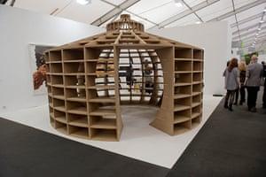 Frieze Art Fair:  Los Carpinteros 'Reading Room' 2010