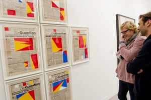 Frieze Art Fair: Marine Hugonniere 'Art for Modern Architecture Guardian Communist Series 2'