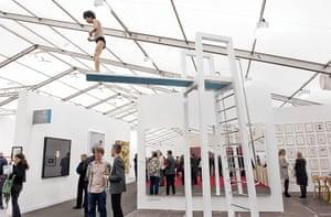 Frieze Art Fair: Elmgreen and Dragset 'Catch Me Should I Fall'
