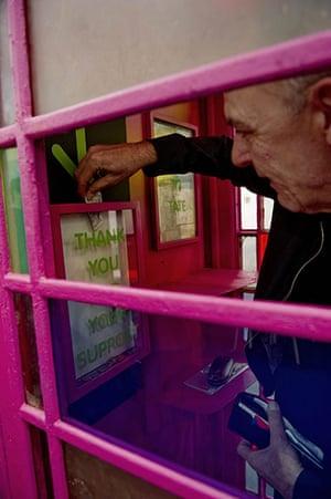 Frieze Art Fair: Nick Relph 'Donation Box' 2010