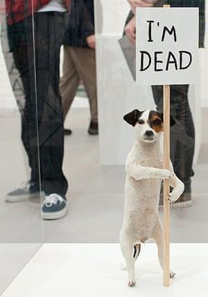 Frieze Art Fair: David Shrigley 'I'm Dead'