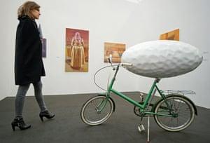 Frieze Art Fair: Darren Lago 'Happy Shopper'