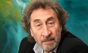 Howard Jacobson, winner of the Man Booker prize.