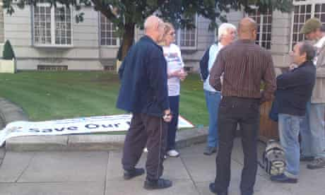 south leeds protest