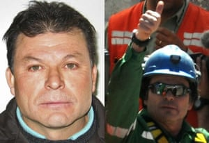 Rescued Chile miners: Pablo Rojas