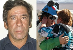 Rescued Chile miners: Yonni Barrios Rojas