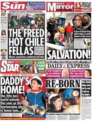 Chile-tabloids