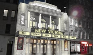 Proposed facade of The New Victoria in Edinburgh