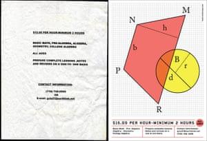 Cardon Copy: Cardon Copy, mathematics flier