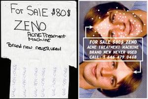 Cardon Copy: Cardon Copy, acne treatment flier