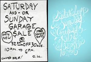 Cardon Copy: Cardon Copy, garage sale flier