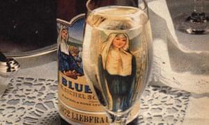 1970s Blue Nun ad
