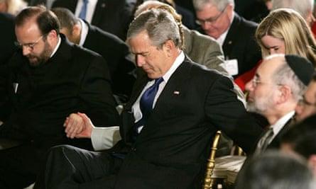 George W Bush Observes National Day Of Prayer