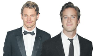 Josh Pence and Armie Hammer