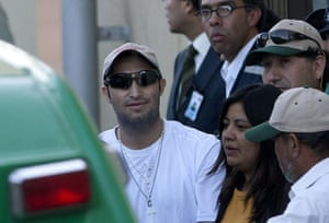 Chile miners return home: Carlos Barrios leaves the hospital