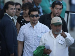 Chile miners return home: Renan Avalos leaves the hospital