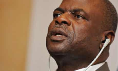 Fifa executive committee member Amos Adamu
