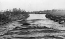 The Severn bore, which might have been harnessed by the proposed Severn barrage